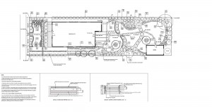 Planting plan and construction details